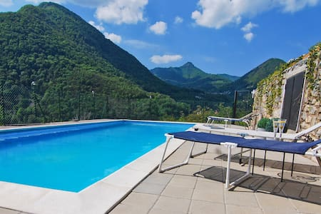 Panoramic lake view & pool - Argegno - อพาร์ทเมนท์