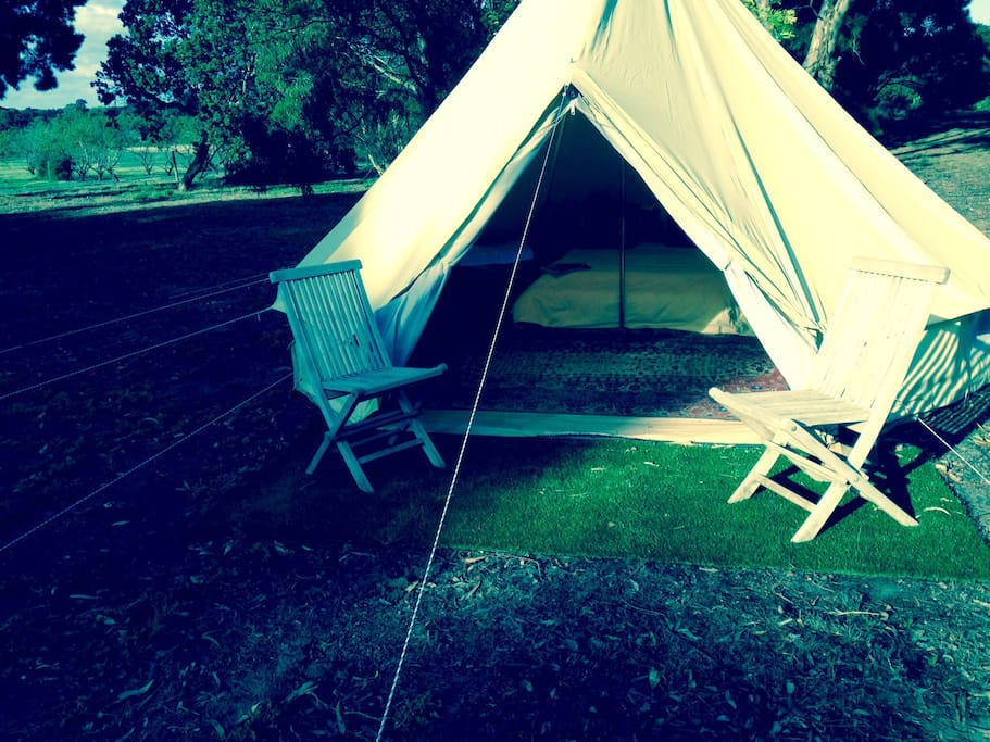 Perfect spot to enjoy the beautiful natural environment before & after a beautiful sleep!!!