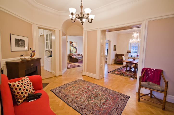 165 sqm in central Stockholm
