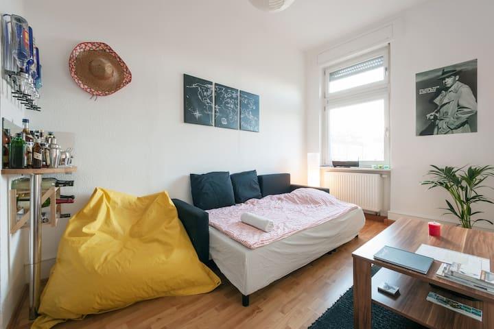 Zentrumnahes Zimmer in Südweststadt - Karlsruhe - Wohnung