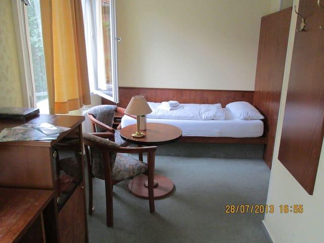 Twin Room, Hotel Atlantik