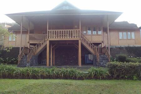 Villa 4 BR at Puncak, Bogor