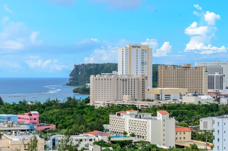 Great view and close to shopping/eating districts - Tamuning