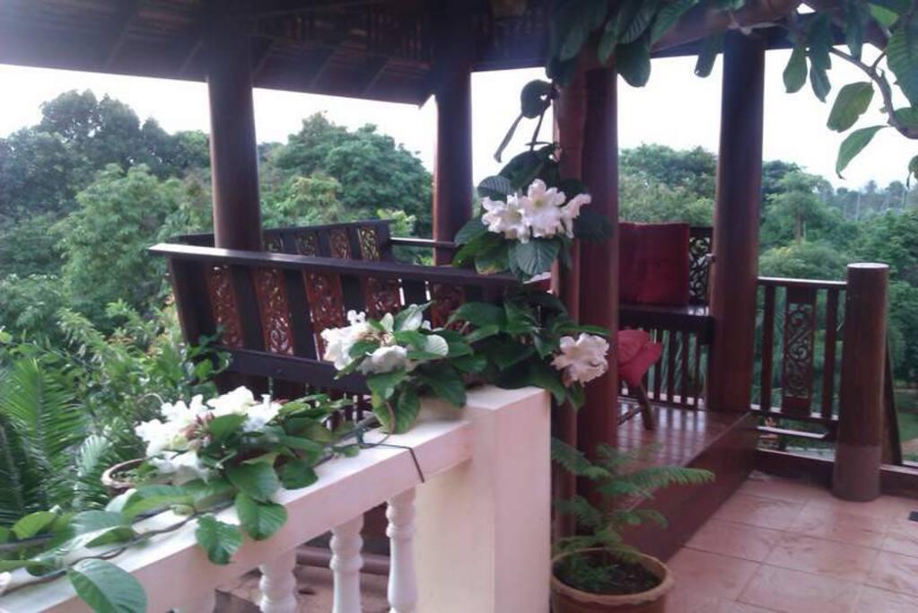 Top floor pagoda