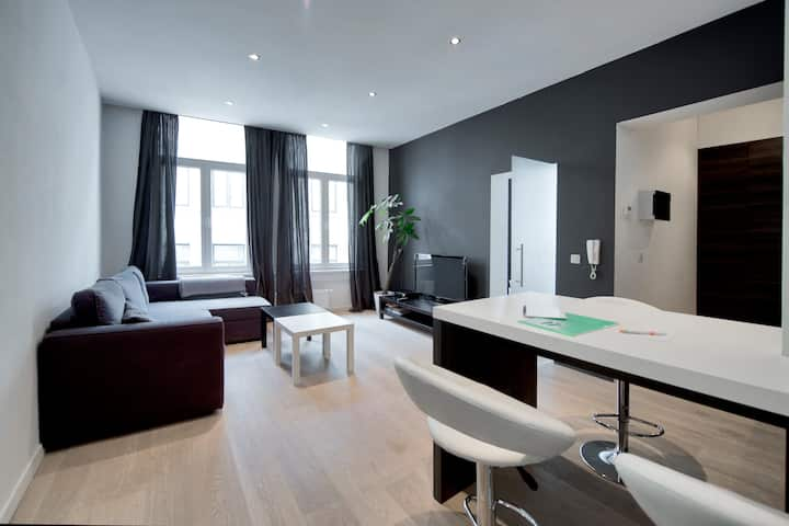 Modern flat in the historical centrum  of Antwerp