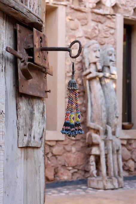 Entrée autour du Riad de la maison