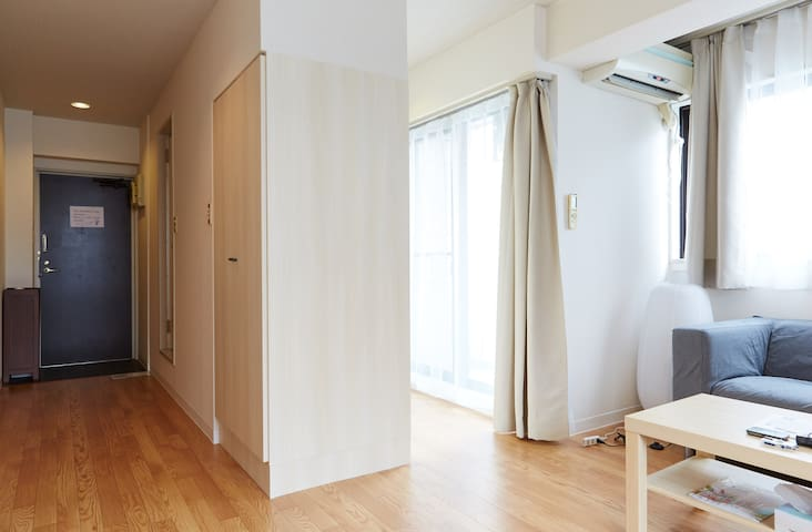 Shinjuku 4PL Clean Very Quiet Room with Free WIFI - Shinjuku - Apartamento