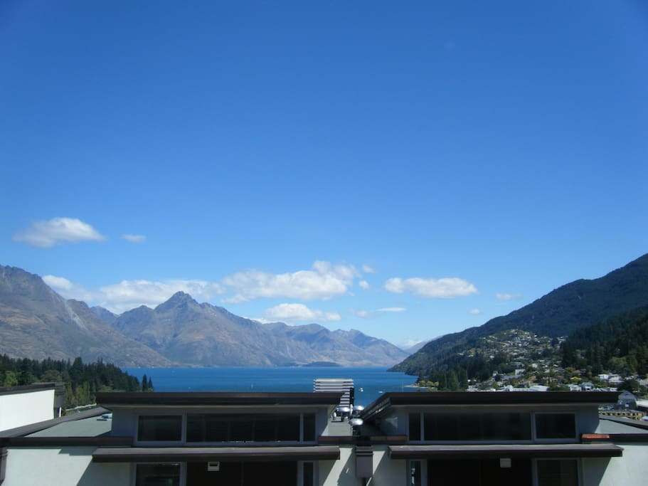 View from the living room balcony.