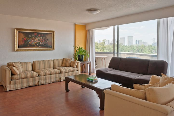 Spacious 3 Bedroom Apt view to Park and Polanco