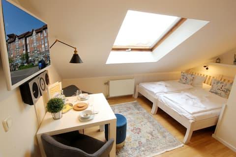 Microappartement in Binz - schick und cheap