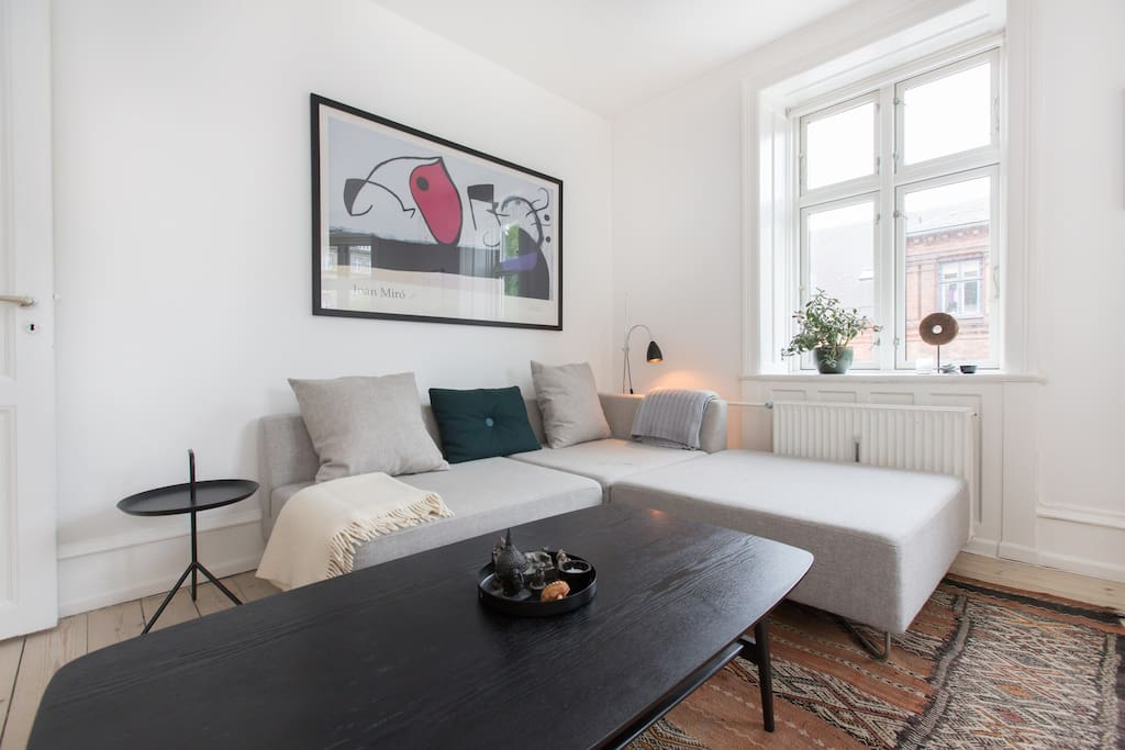 Modern apartment by Skt. Hans Torv