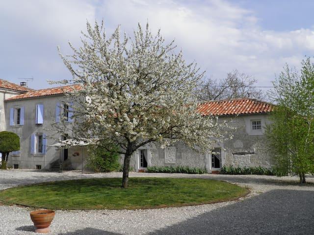 Ensemble de 2 maisons avec piscine - Saint-Palais-du-Né - Huis