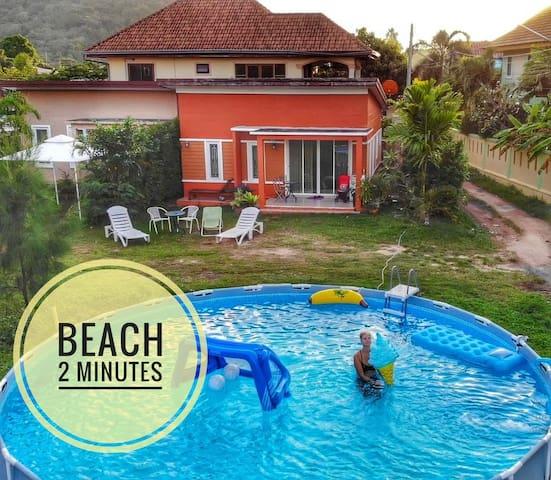 ♥ Beach 2 minutes! ♥ Phuket Beach line ♥