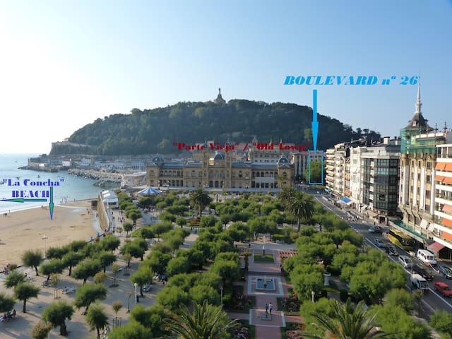 Boulevard nº26: That means a lot - Donostia-San Sebastian - Apartmen