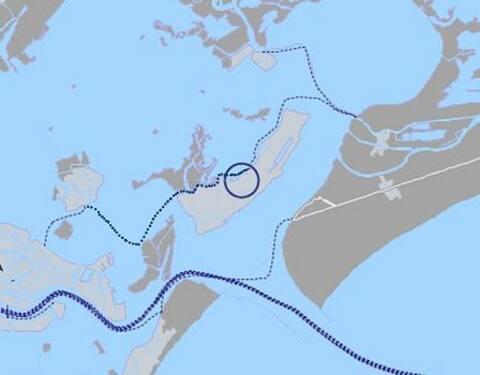 app.to sull'isola di Sant'Erasmo