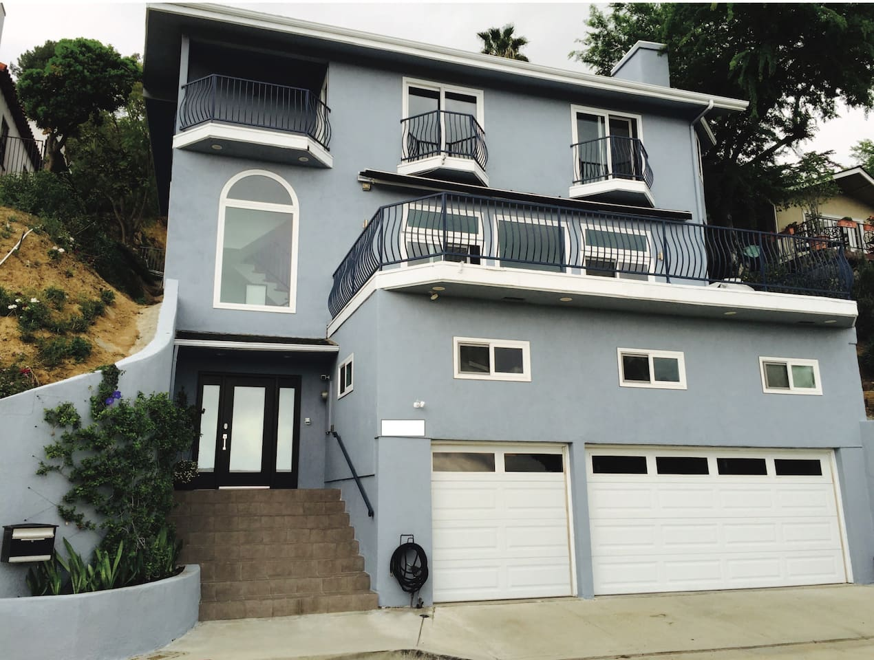 Your home away from home but with an added luxury of SO CAL, 2 central air condition/heat (1 on each floor), 14 Solar panels-top of the roof for best power provided to the home & all new 21 windows/slide doors dual pane for protection from heat/cold.
