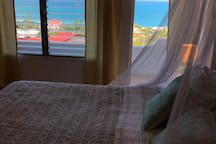 Your bedroom view of the Caribbean.