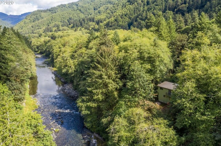 Wilson River access, private waterfalls & forest