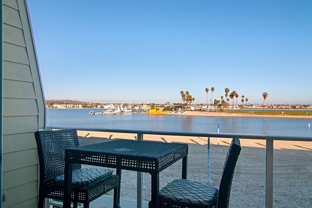Morning Coffee? Happy Hour or BBQ? Balcony Deck off Main Living Room