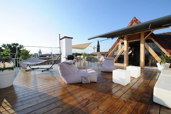 City Penthouse mit Dachterrasse