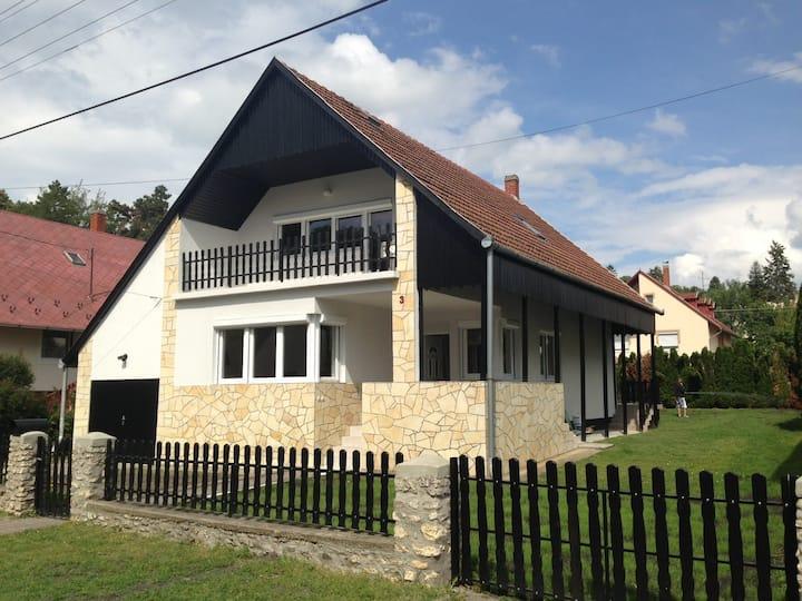 House at Lake Balaton, Hungary