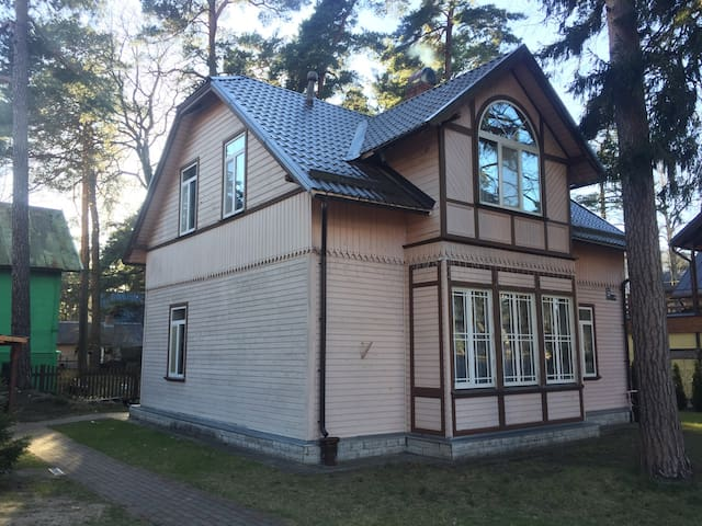 Cozy house in the heart of Jurmala - Jūrmala - Hus