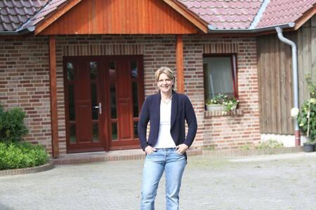 Helles, sympathisches Privatzimmer im Emsland