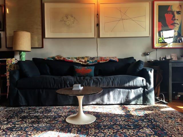 beautiful artistic 1 bdrm in Park Slope, Brooklyn - Brooklyn - Apartment