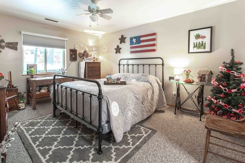 Charming 2-room comfortable space in quiet home.