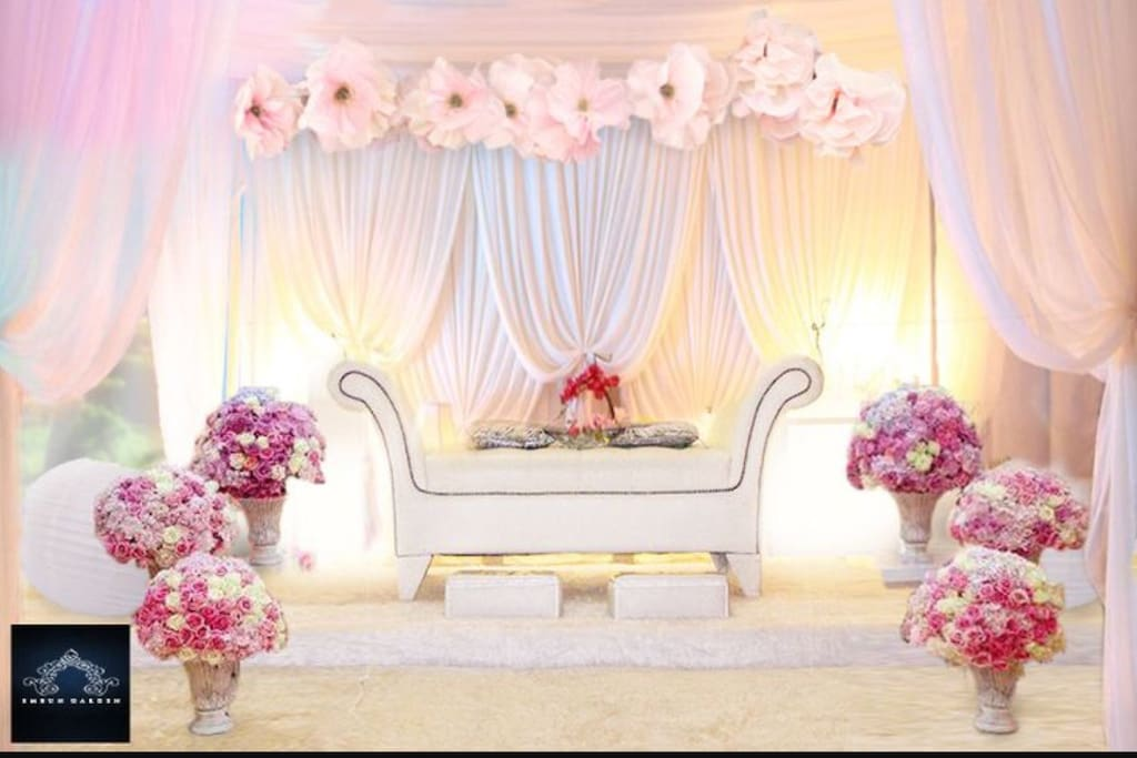 Our house ideal for Wedding function up to 500pax. Photo for illustration only