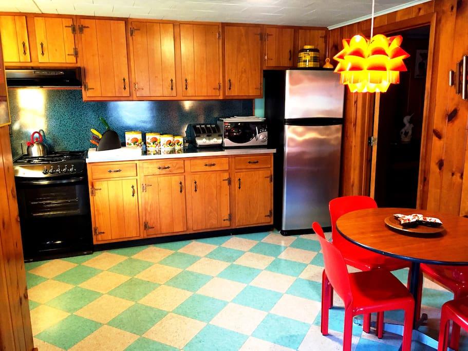 Kitchen in Suite 1