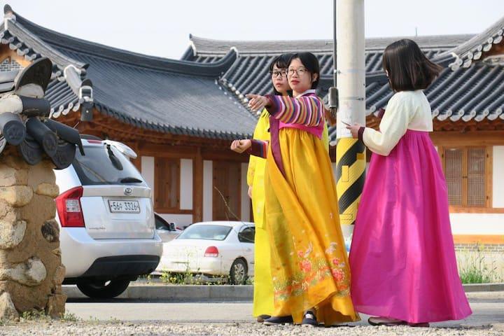 대동누리관1-월출산이 가까운 전통 한옥집 - Gunseo-myeon, Yeongam - Huis
