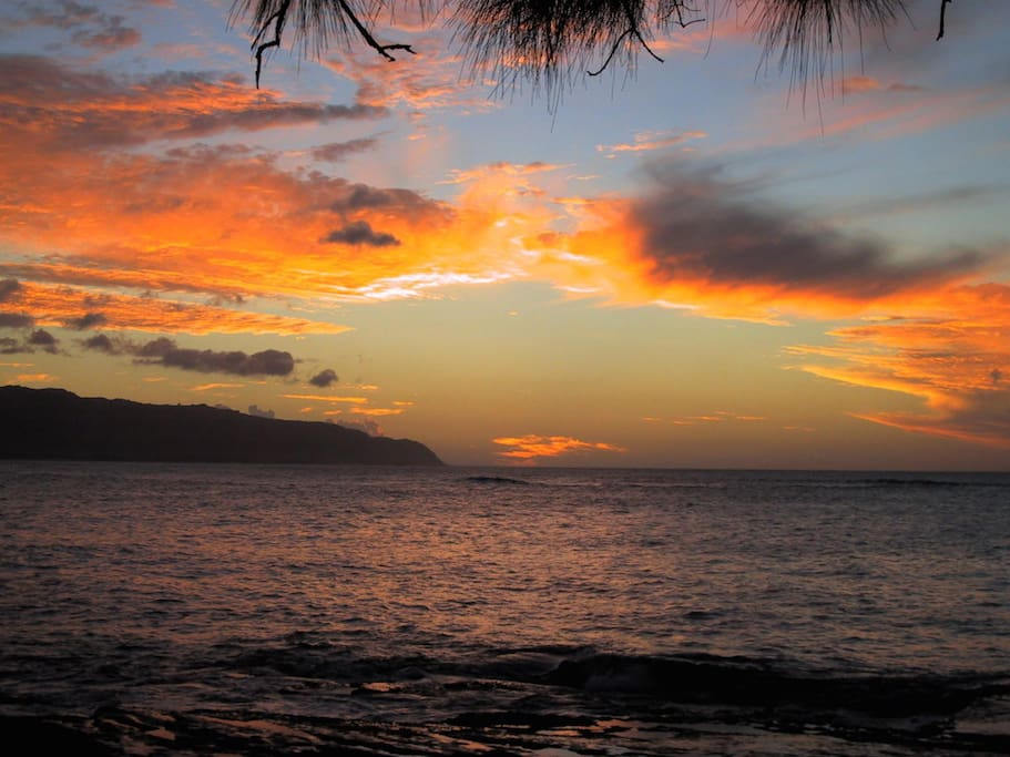 View from Your Lanai; Sunsets Daily :)