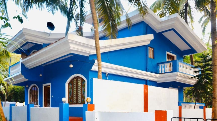 The Aqua Villa , 2 min walking from Candolim beach