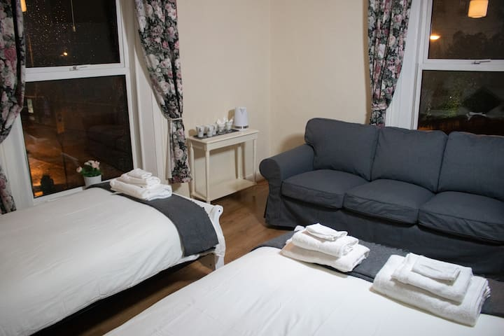 Family Room with Private Sink and Shared Bathroom in Dublin City Centre