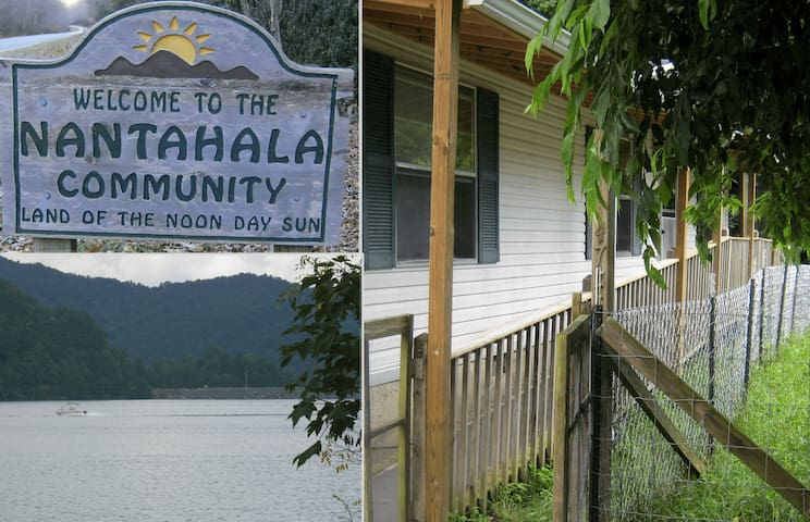 Nantahala Lake/River Affordable. Kids Dogs welcome