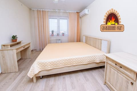 Двухкомнатная квартира в центре города Оренбурга.