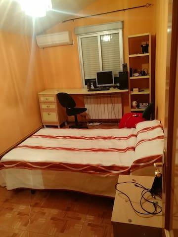Habitación privada a 40 km del WandaMetropolitano