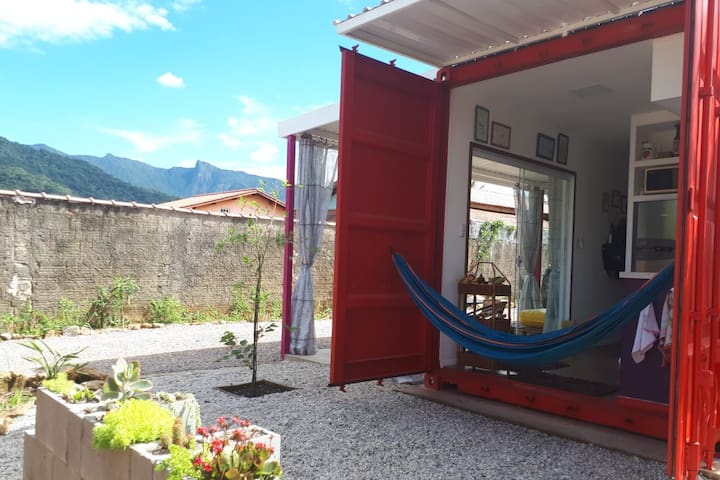 Container Beach House Ubatuba Lagoinha (6 people)