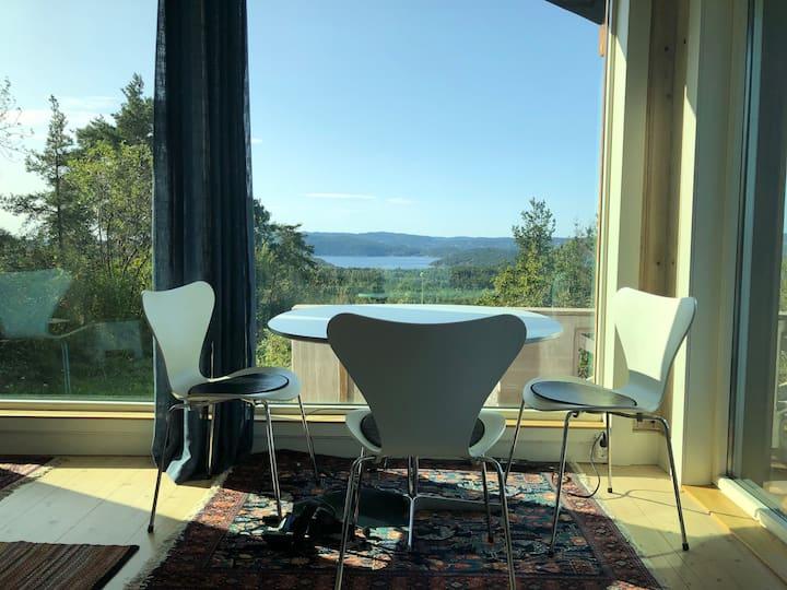 Flott utsikt over Oslofjorden