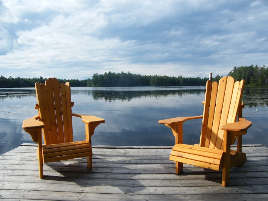 Relax by the water on our most comfortable chairs.