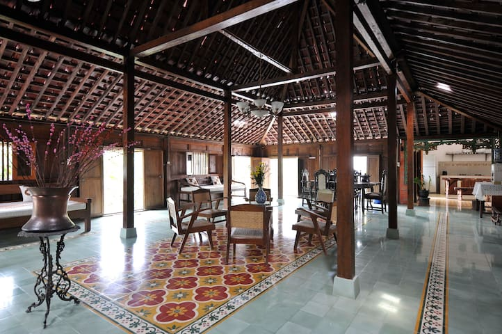 Vintage Room(1) in Javanese wooden house (limasan)