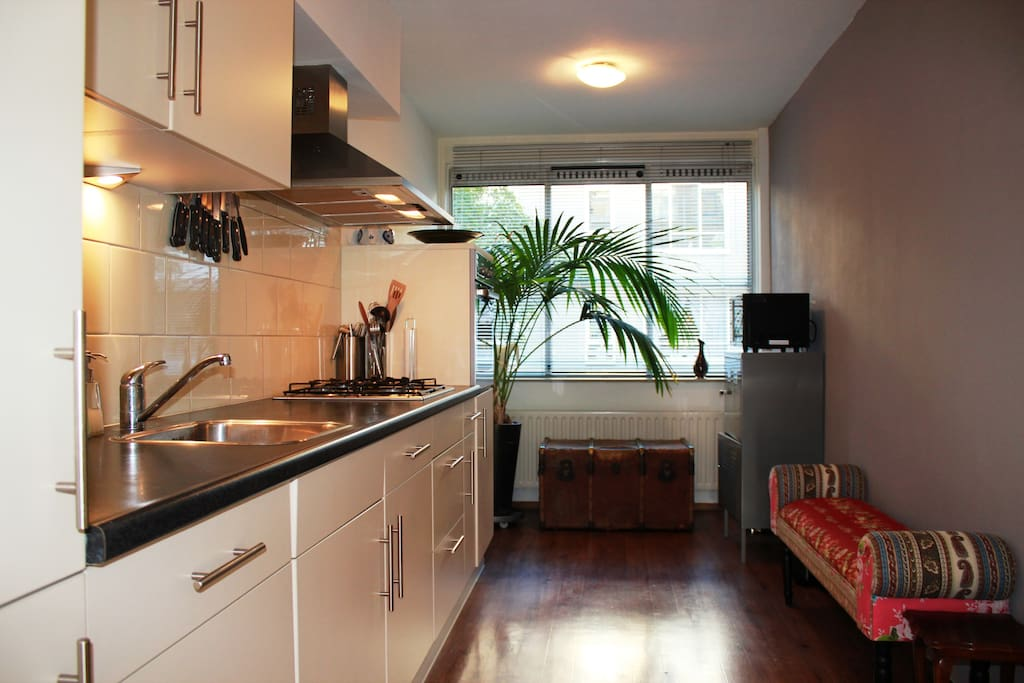 Fully-equipped kitchen at your disposal