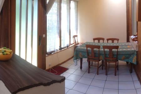 Nice furnished house with garden in Paris region - Hus