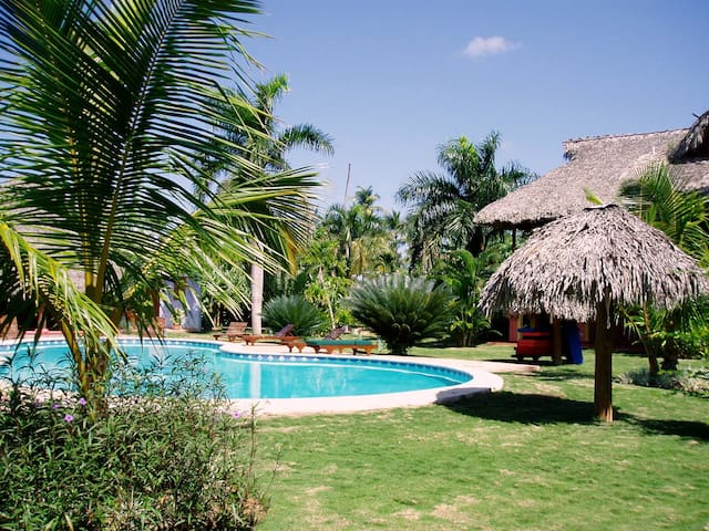 Adorable flat in tropical garden J2 - Las Terrenas - Lejlighed