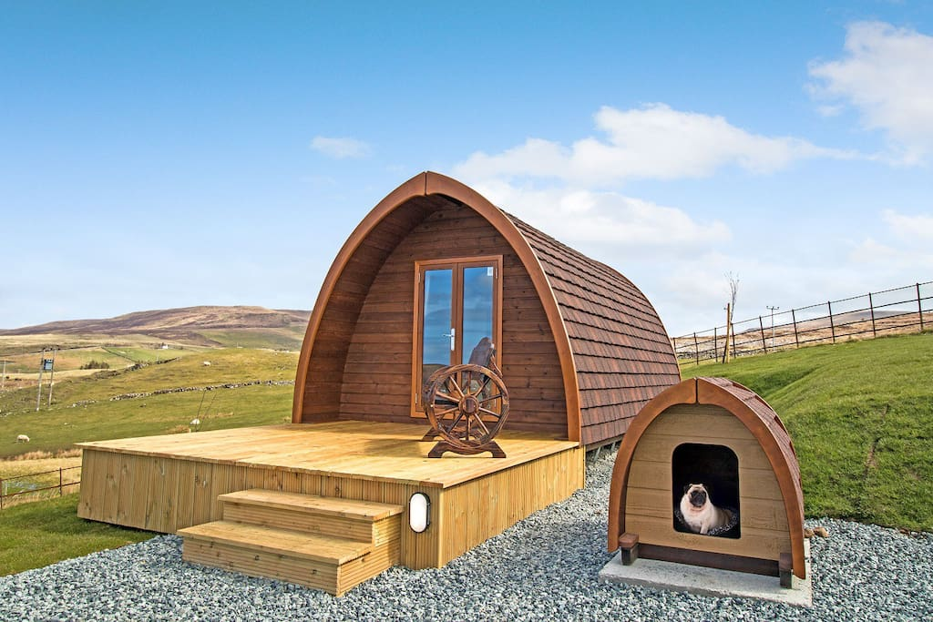Two of the Pods have a little Dog Pod for your pet