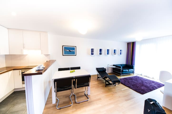 Sky Apartment (bis  zu 6 Personen) - Kriessern - Appartement