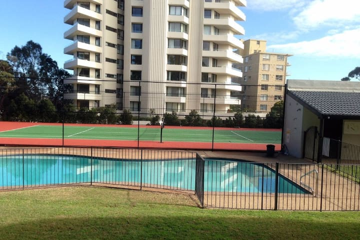 Fantastic  Manly beach home with pool & tennis - Manly - Pis