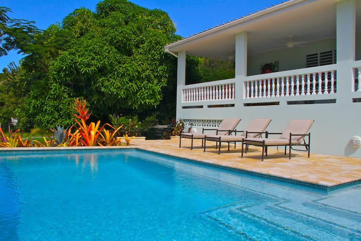 R Villa at Steps Beach, Rincon, PR