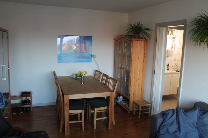 Nice one bedroom apt. near Aalborg - Norresundby - Apartment